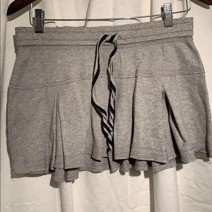 3/20 Bluenotes grey jersey pleated skirt